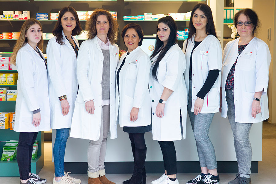 Teamfoto_Apotheke am Klinikum Velbert